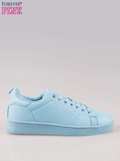 Niebieskie buty sportowe damskie