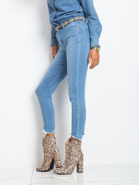 Niebieskie jeansy Carlita                              zdj.                              3