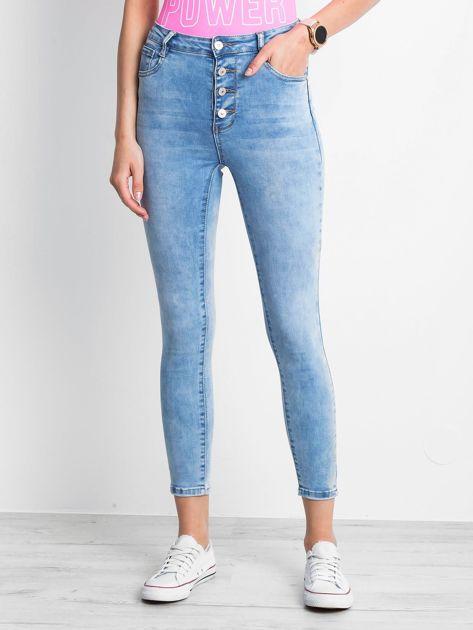 Niebieskie jeansy Complements                              zdj.                              1