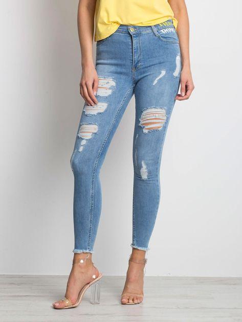 Niebieskie jeansy Equations