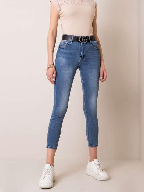 Niebieskie jeansy Eve