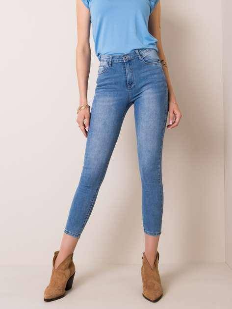 Niebieskie jeansy Gabby
