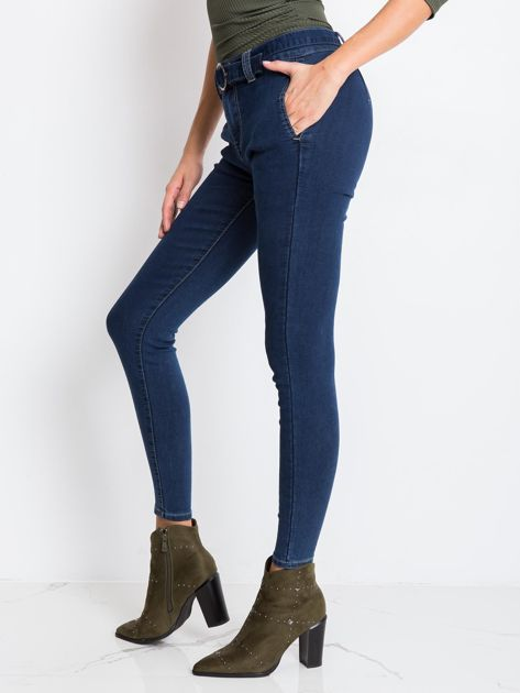Niebieskie jeansy Miss                              zdj.                              3