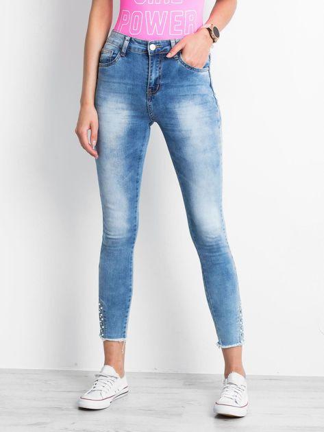 Niebieskie jeansy Prudence