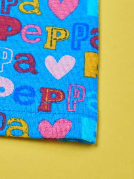Niebieskie legginsy dla dziewczynki ŚWINKA PEPPA                                  zdj.                                  4