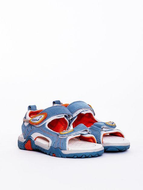 Niebieskie sandały dziecięce                              zdj.                              1