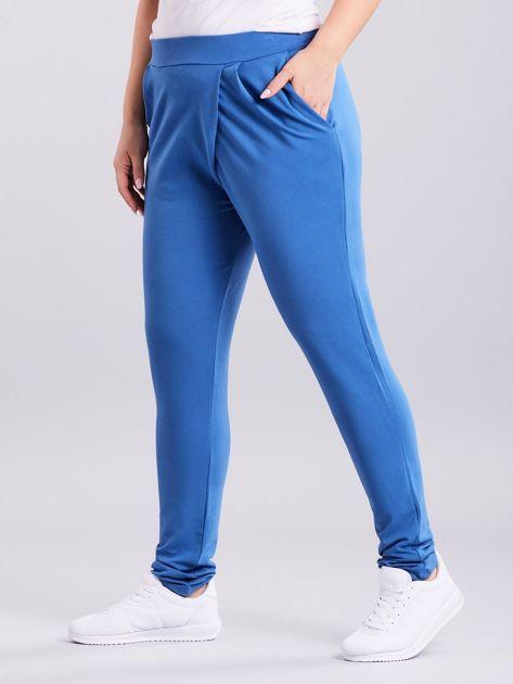 Niebieskie spodnie Enter                              zdj.                              1