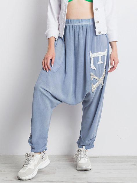 Niebieskie spodnie Halfway                              zdj.                              5