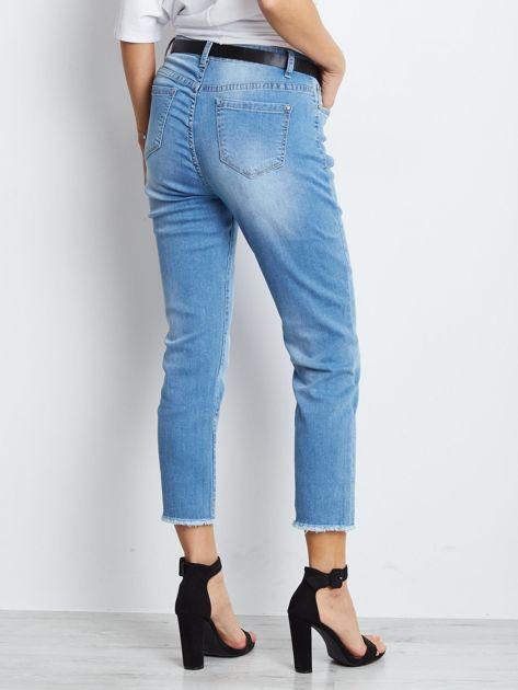Niebieskie spodnie jeansowe Outlander                              zdj.                              2
