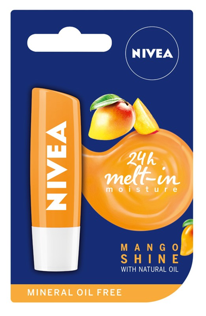 Nivea Lip Care Pomadka ochronna MANGO SHINE 4.8g