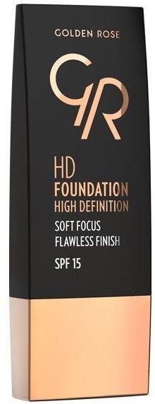 Nowość! GOLDEN ROSE Podkład HD soft focus 105 30 ml