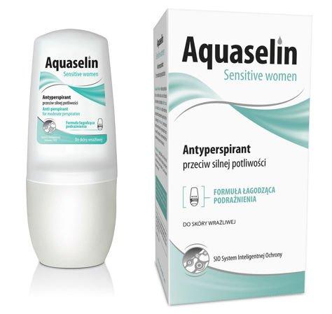 OCEANIC AQUASELIN Sensitive Women Antyperspirant przeciw silnej potliwości 50 ml                              zdj.                              1