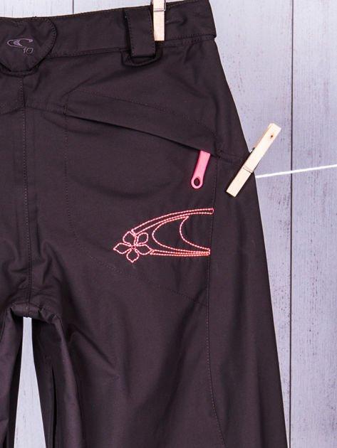 O'NEILL Brązowe spodnie narciarskie dla dziewczynki                              zdj.                              7