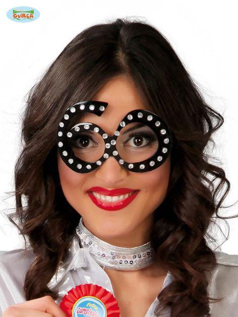 Okulary imprezowe z aplikacją                              zdj.                              1
