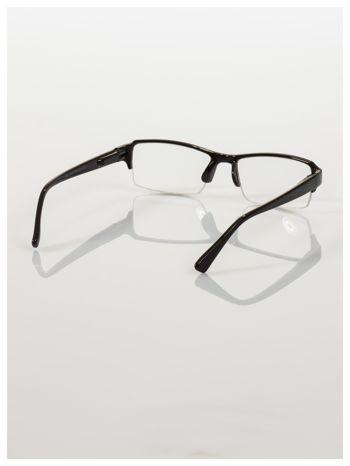 Okulary korekcyjne +1.0 D do czytania z systemem FLEX na zausznikach +GRATIS PLASTIKOWE ETUI I ŚCIERECZKA Z MIKROFIBRY                                  zdj.                                  5