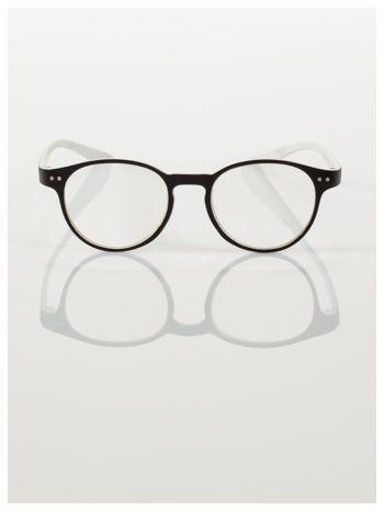 Okulary korekcyjne  +1.0 D dwukolorowe ,do czytania, stylizowane na RAY BAN +GRATIS PLASTIKOWE ETUI I ŚCIERECZKA Z MIKROFIBRY                                  zdj.                                  3