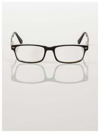 Okulary korekcyjne +1.0 D ,model WAYFARER do czytania z systemem FLEX na zausznikach +GRATIS PLASTIKOWE ETUI I ŚCIERECZKA Z MIKROFIBRY                                  zdj.                                  3