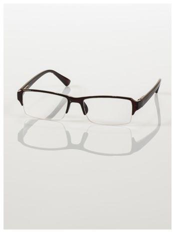Okulary korekcyjne +1.5 D do czytania z systemem FLEX na zausznikach +GRATIS PLASTIKOWE ETUI I ŚCIERECZKA Z MIKROFIBRY                                  zdj.                                  1