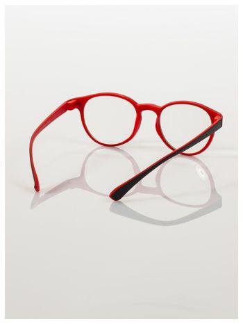 Okulary korekcyjne  +3.0 D dwukolorowe ,do czytania, stylizowane na RAY BAN +GRATIS PLASTIKOWE ETUI I ŚCIERECZKA Z MIKROFIBRY                                  zdj.                                  4