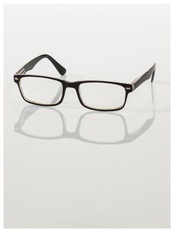 Okulary korekcyjne +3.0 D ,model WAYFARER do czytania z systemem FLEX na zausznikach +GRATIS PLASTIKOWE ETUI I ŚCIERECZKA Z MIKROFIBRY                                  zdj.                                  1