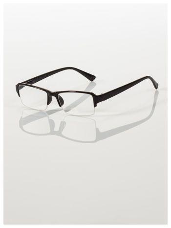 Okulary korekcyjne +4.0 D do czytania z systemem FLEX na zausznikach +GRATIS PLASTIKOWE ETUI I ŚCIERECZKA Z MIKROFIBRY