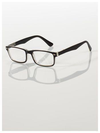 Okulary korekcyjne +4.0 D ,model WAYFARER do czytania z systemem FLEX na zausznikach +GRATIS PLASTIKOWE ETUI I ŚCIERECZKA Z MIKROFIBRY                                  zdj.                                  2