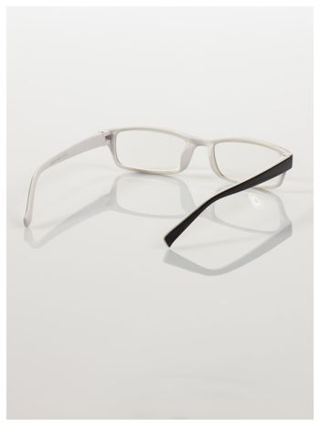 Okulary korekcyjne dwukolorowe do czytania +1.5 D                                    zdj.                                  4