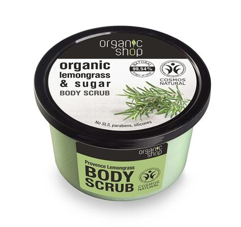 """Organic Shop Peeling do ciała Trawa cytrynowa i cukier 250 ml"""""""