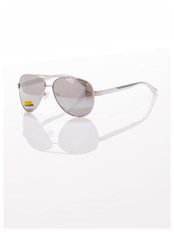 POLYCARBON PRIUS- Pilotki odporne na zarysowania ,unisex okulary przeciwsłoneczne z systemem FLEX na zausznikach                                  zdj.                                  1