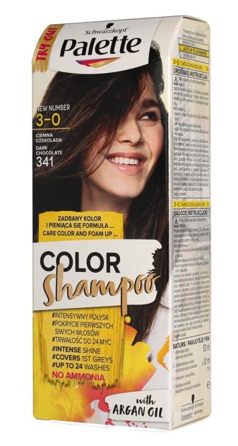 """Palette Color Shampoo Szampon koloryzujący  nr 3-0 (341) Ciemna Czekolada  1op."""""""