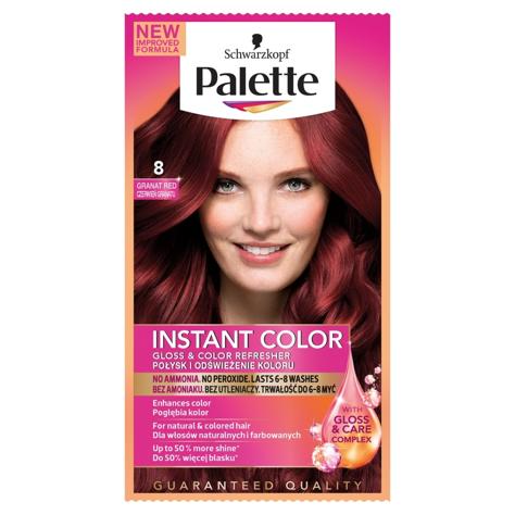"""Palette Instant Color Szamponetka koloryzująca Czerwień Granatu nr 8  1szt"""""""