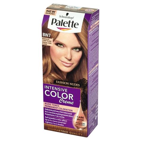"""Palette Intensive Color Creme Krem koloryzujący nr BW7-mineralny ciemny blond 1op."""""""