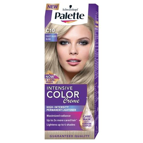 """Palette Intensive Color Creme Krem koloryzujący nr C10-mroźny srebrny blond  1op."""""""