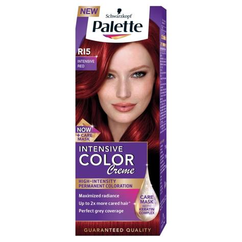 "Palette Intensive Color Creme Krem koloryzujący nr RI5-intensywna czerwień  1op."""