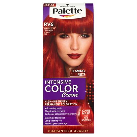 "Palette Intensive Color Creme Krem koloryzujący nr RV6-szkarłatna czerwień  1op."""