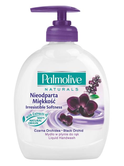 Palmolive Naturals Mydło w płynie z dozownikiem Czarna Orchidea 300 ml