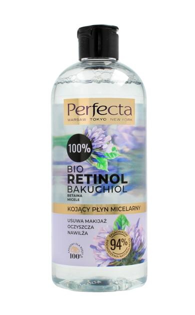 """Perfecta 100% Bio Retinol Kojący Płyn micelarny  400ml"""""""