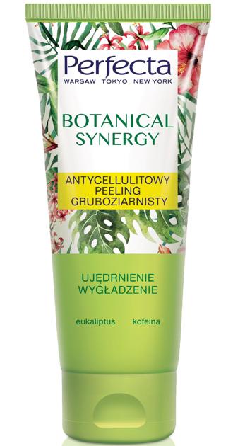 Perfecta Botanical Synergy Antycellulitowy Peeling gruboziarnisty do ciała - Eukaliptus i Kofeina 200 ml