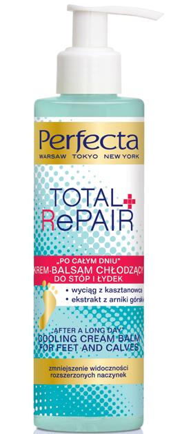 "Perfecta Total Repair Krem-balsam chłodzący do stóp i łydek ""Po całym dniu"" 195 ml"