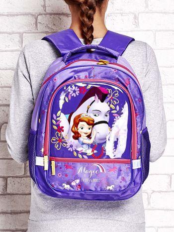 Plecak szkolny dla dziewczynki motyw SOFIA THE FIRST