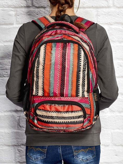 Plecak szkolny w etniczne wzory