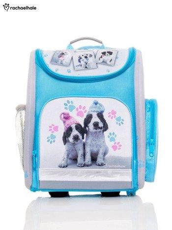 Plecak szkolny z nadrukiem psów