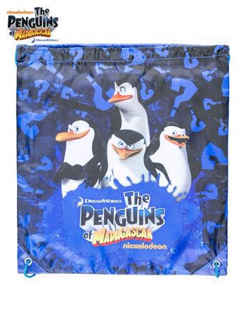 Plecak typu worek Pingwiny z Madagaskaru