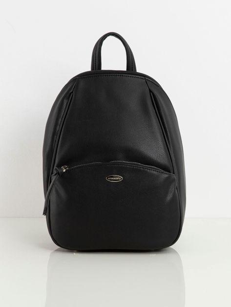 Plecak z ekoskóry czarny