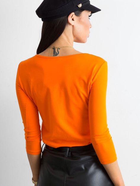 Pomarańczowa bluzka Mona                              zdj.                              2