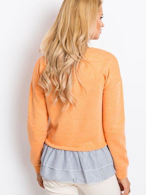 Pomarańczowa bluza Lucky                              zdj.                              2