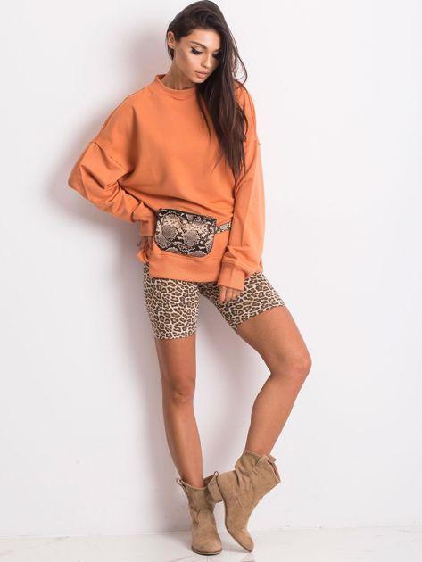 Pomarańczowa bluza Wild                              zdj.                              4