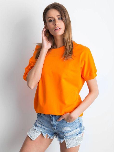 Pomarańczowa bluzka Lemontree
