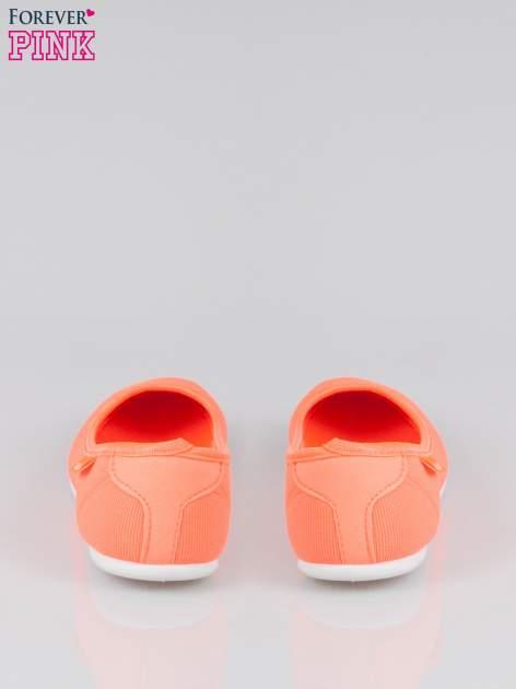 Pomarańczowe lekkie sliponki                                  zdj.                                  3