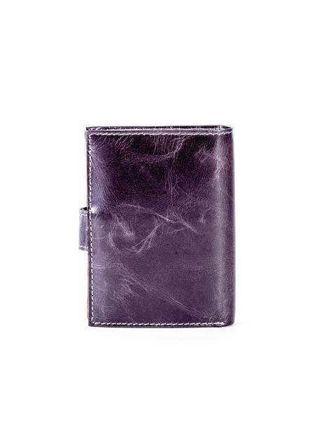 Portfel skórzany czarny cieniowany                              zdj.                              2